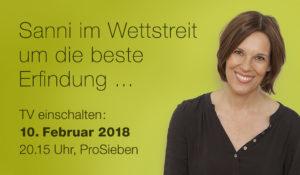 Susanne Richter mit drip.line im TV auf ProSieben