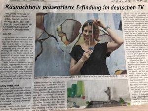 Susanne Richter in der ZSZ Küsnachter