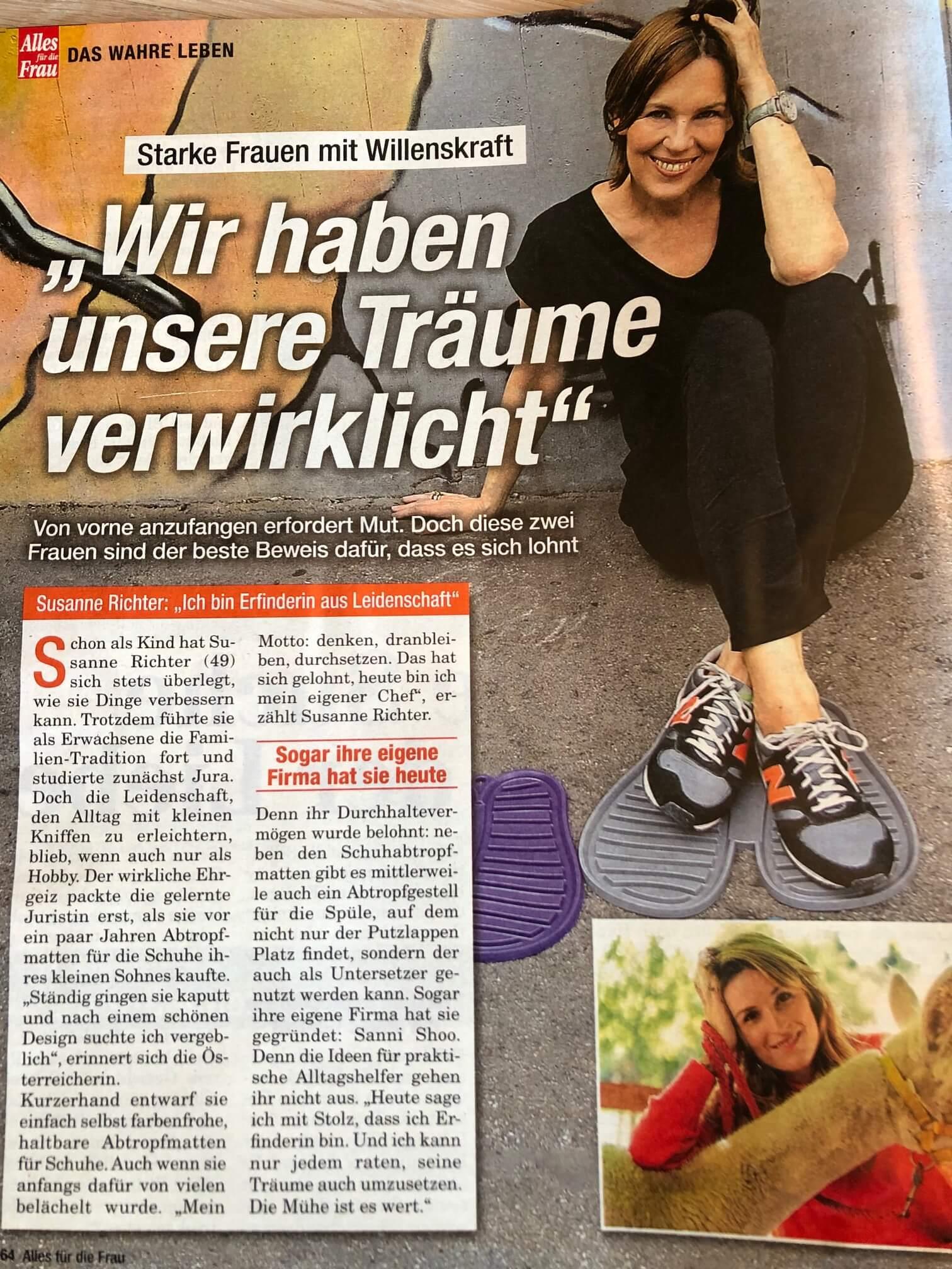 Susanne Richters Geschichte in Alles für die Frau