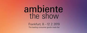 Ambiente, Frankfurt 8.2.-12.2.2019 mit SanniShoo in der Halle 11.0, Stand E92