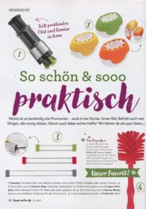 Produktbeitrag zu drip.line in Rezepte mit Herz, 1/2019
