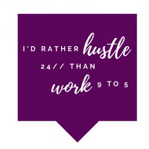 SanniShoo - I'd rather hustle