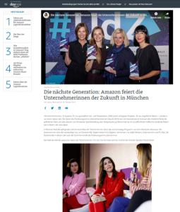Susanne Richter Award-Gewinner #udz19 / blogaboutamazon