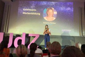 Susanne Richter - Award Gewinnerin Markenbildung bei Amazon Unternehmerinnen der Zukunft 2019
