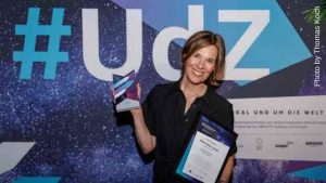 Susanne Richter - Gewinnerin bei Amazon Unternehmerin der Zukunft 2019 / Foto: Thomas Koch